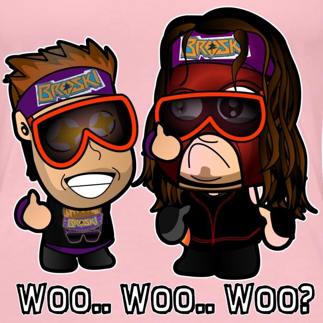 Chibi Zack Ryder and Kane