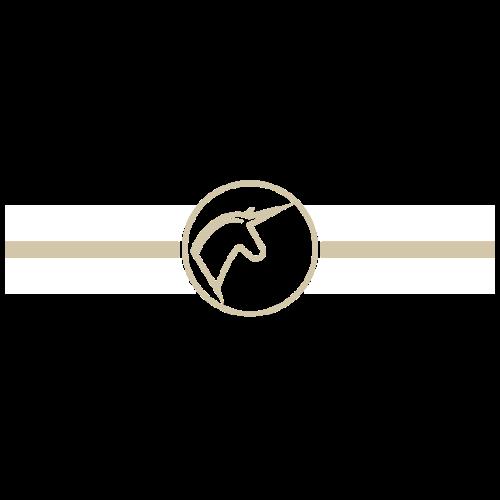 horses en vogue -weiß,gold- - Frauen Premium T-Shirt