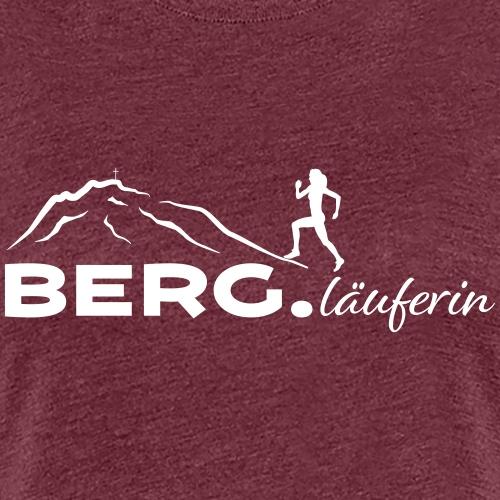 BERG.läuferin - Frauen Premium T-Shirt