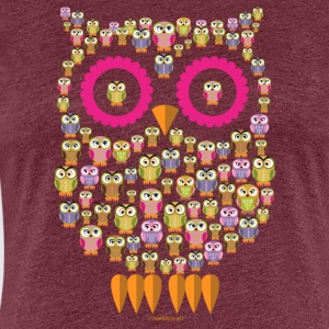 10-30 OWL FAMILY - PEARL FASHION clothing and gifts - Women's Premium T-Shirt