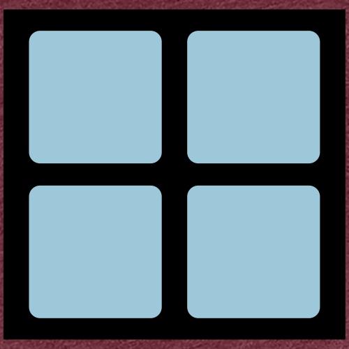 Quadrat Block des Computerspieleklassiker - Frauen Premium T-Shirt