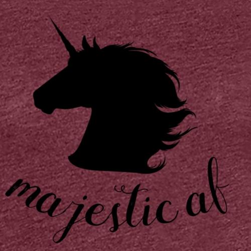 majestic af - Frauen Premium T-Shirt