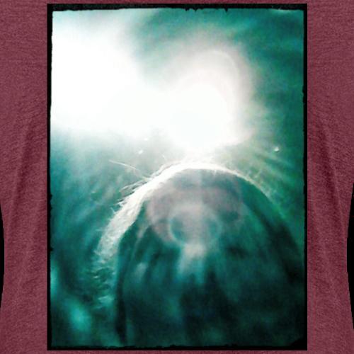 Vintage Kuss - Frauen Premium T-Shirt