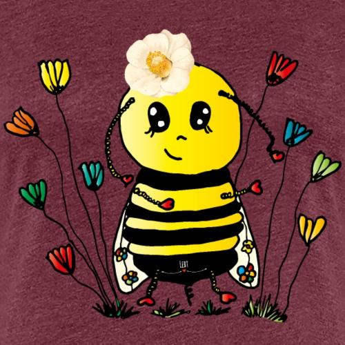 Apes schlimme Biene - Frauen Premium T-Shirt