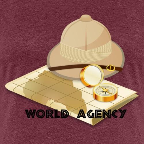 World Agency - Frauen Premium T-Shirt