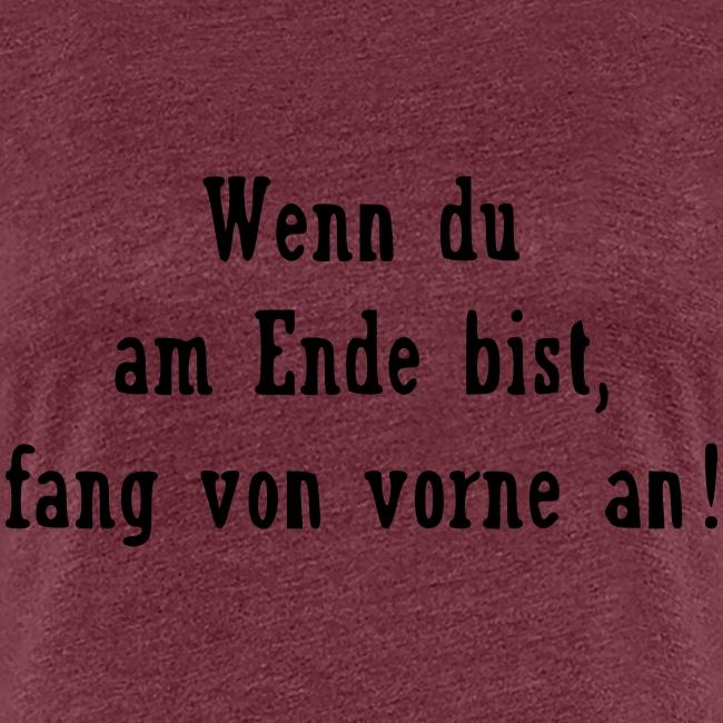 Motivation Spruch Business Sport Frauen Premium T Shirt Spruche Saying Shirts
