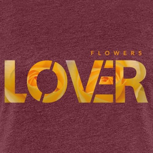 Flowers Lovers - Yellow - Maglietta Premium da donna