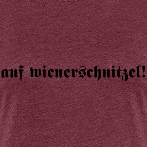 AufWiener - Vrouwen Premium T-shirt