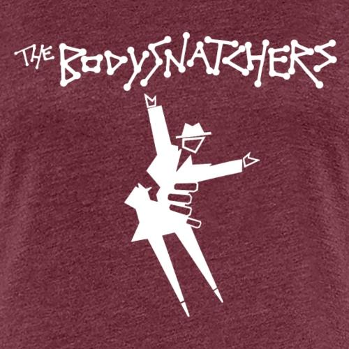 bsnatcher tee logo wht sml - Women's Premium T-Shirt