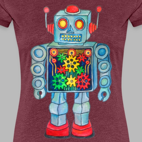 ROBOT - Women's Premium T-Shirt