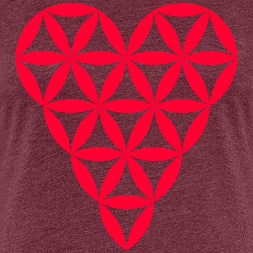 Heart of Life - Heart Symbol - Red - Women's Premium T-Shirt