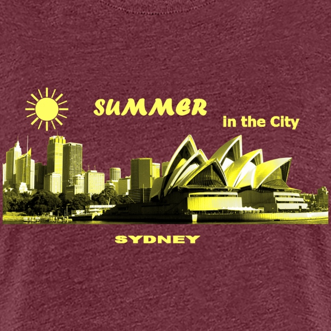 Summer in the City Sydney Australia