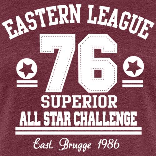 Eastern League 76 - Vrouwen Premium T-shirt
