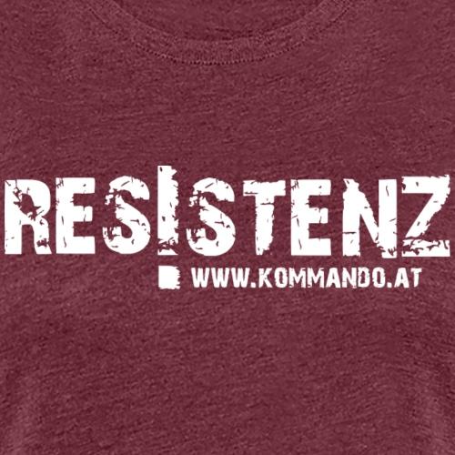 Resistenz - Frauen Premium T-Shirt
