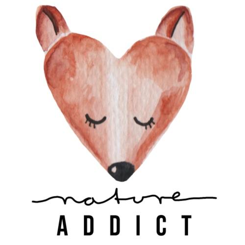 nature addict fox fuchs - Frauen Premium T-Shirt