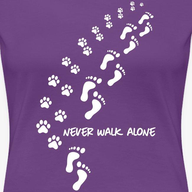 never walk alone dog