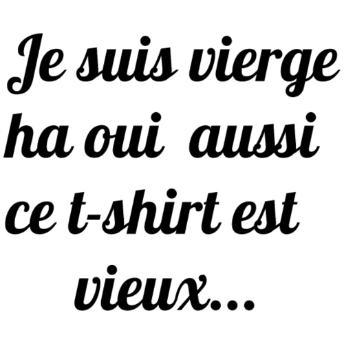 Vieux tee-shirt - T-shirt Premium Femme