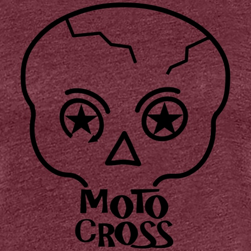 MX Skull No.5 - Women's Premium T-Shirt