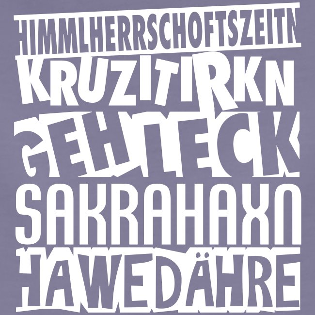 Vorschau: Österreichisch fluchen - Frauen Premium T-Shirt