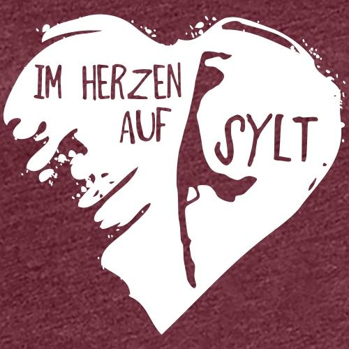 Im Herzen auf Sylt Shop - Frauen Premium T-Shirt