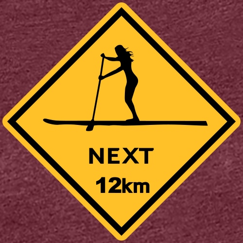 sup girl Australien Roadsign x - Frauen Premium T-Shirt