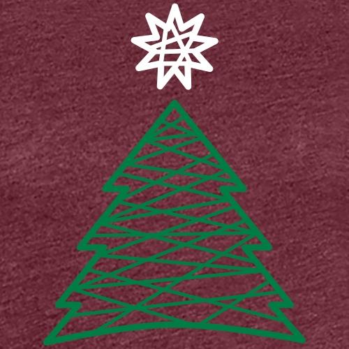 Christbaum Tannenbaum Weihnachtsbaum - Women's Premium T-Shirt