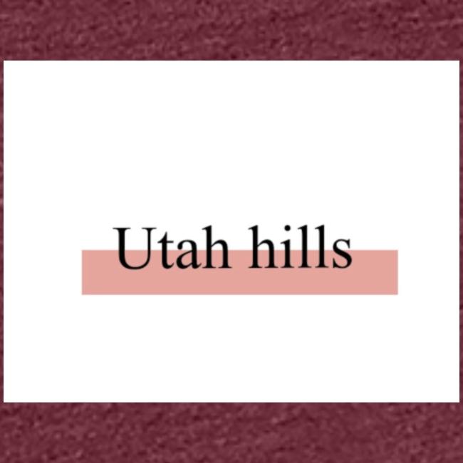 Utah hillss