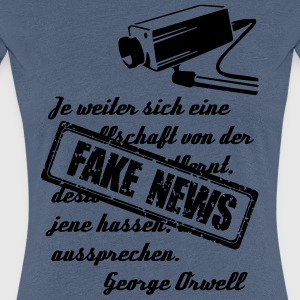 Fake News - Frauen Premium T-Shirt
