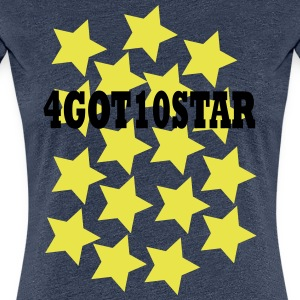4GOT10STAR - Frauen Premium T-Shirt