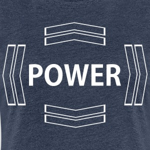 power - Women's Premium T-Shirt