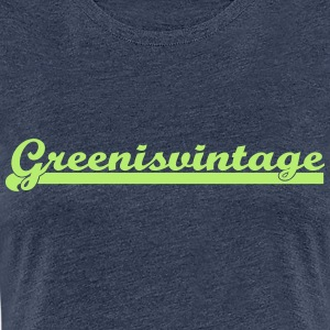 Green.is.vintage - Premium-T-shirt dam