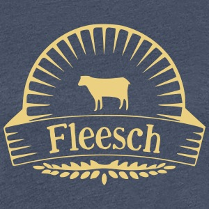 Fleesch - Frauen Premium T-Shirt