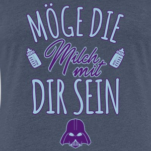 May the milk be with you - Women's Premium T-Shirt