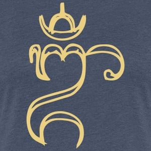 Bali Om Abstract - Women's Premium T-Shirt