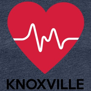 heart Knoxville - Women's Premium T-Shirt