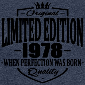 Limited edition 1978 - Vrouwen Premium T-shirt