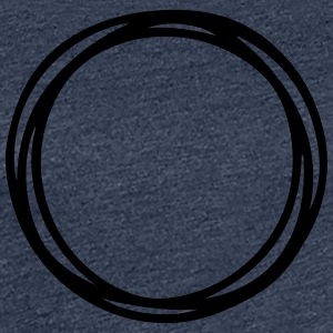 Circles and circles - Women's Premium T-Shirt