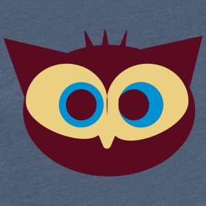 Crazy Owl - Women's Premium T-Shirt