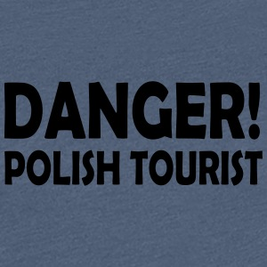 polish tourist - Women's Premium T-Shirt