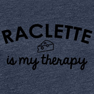 Raclette is my therapy - Women's Premium T-Shirt