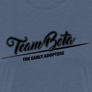 Team Beta - the early adopters - Women's Premium T-Shirt