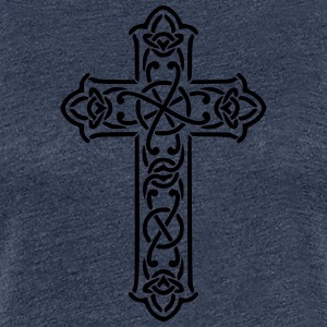 Celtic Cross - Premium T-skjorte for kvinner