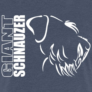 GIANT SCHNAUZER PROFILE - Women's Premium T-Shirt