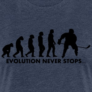 Evolution never stops - Women's Premium T-Shirt