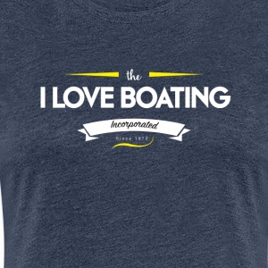 boating_logo_2 - Premium T-skjorte for kvinner