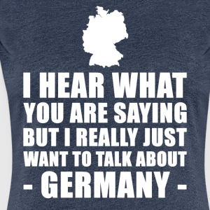 Funny Germany Vacation Gift Idea - Women's Premium T-Shirt