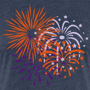 Fireworks, Happy New Year, Party, Festival, Show - Women's Premium T-Shirt