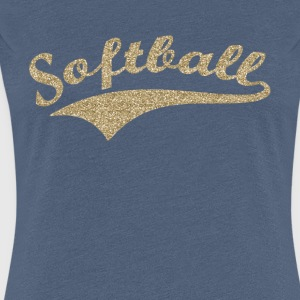 Softball v1 - Women's Premium T-Shirt