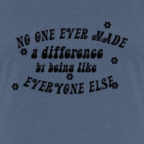 nO ONE 60S - T-shirt Premium Femme