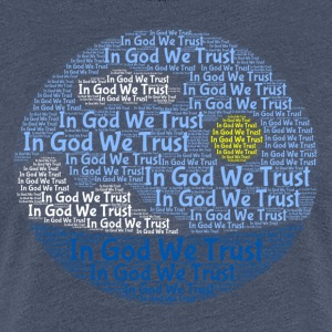 In God We Trust with Tagul Style - Women's Premium T-Shirt